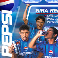 Web Design - Pepsi Marketing Campaign