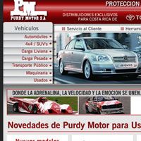 Web Design - Toyota Authorized Dealer