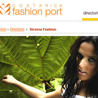 Web Design: Costa Rica Fashion Port