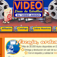 Web Design - Video Rental Chain web site